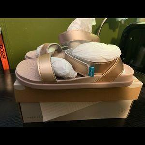 Native Shoes Juliet Metallic Sandals